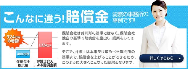 924万円の増額例あり。実際の事務所の事例です!